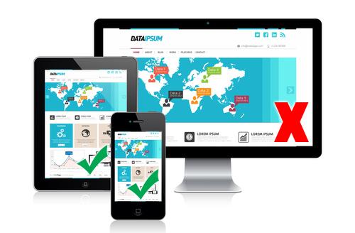 mobil-weboldal