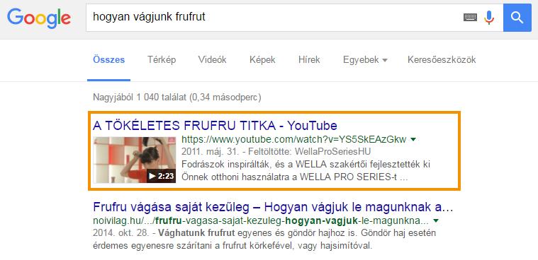 Google videók